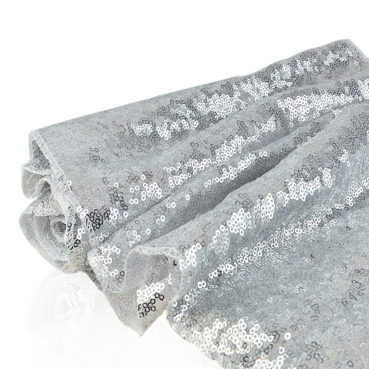obrus srebrny